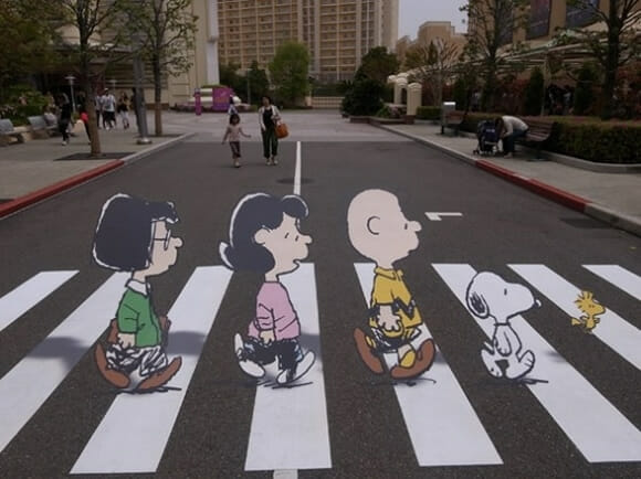FOTOFUN - Charlie Brown Abbey Road