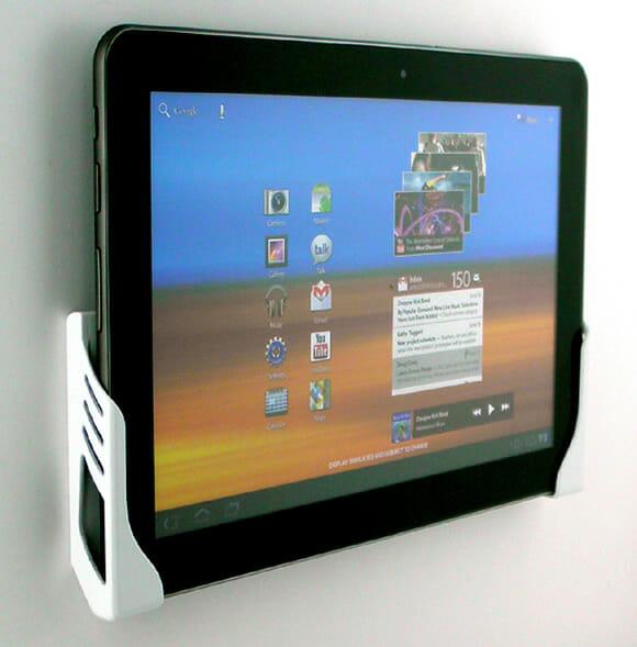 Suporte de parede para Tablets oferece praticidade e baixo custo (vídeo)