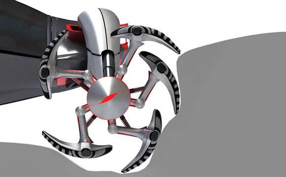 """U-Wall Lizard - Um veículo conceito em forma de """"réptil"""" para as ruas do futuro"""