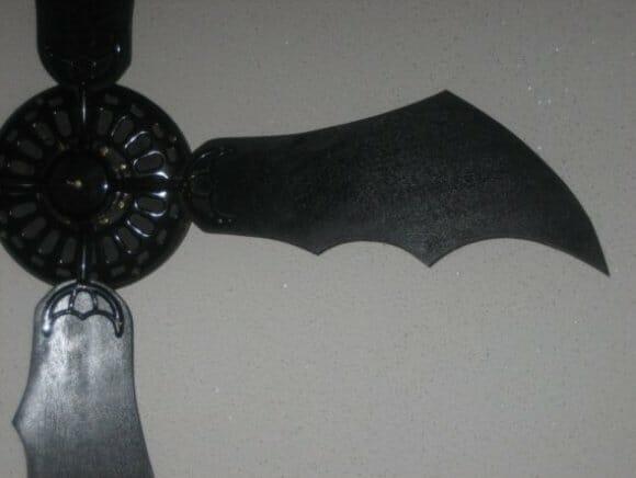 """BatVentilador: Vendedor Etsy vende """"asas de morcego"""" para ventiladores de teto"""