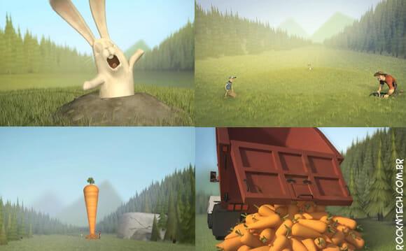 VIDEOFUN - Um coelho, dois malucos e um mooonte de cenouras