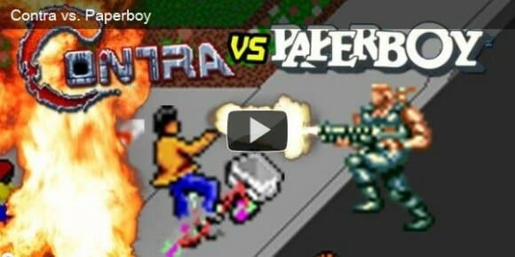 VIDEOFUN - Contra vs. Paperboy