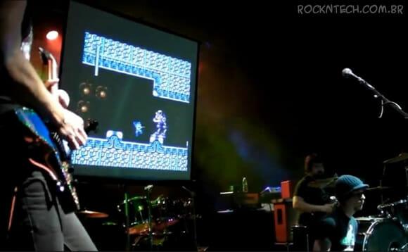 VIDEOFUN - Megaman II tocado ao vivo por uma banda de Rock n' Roll (show completo)