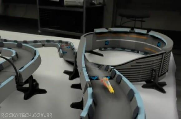 Cientistas criam versão real de jogo onde carros de corrida levitam de verdade! (vídeo)