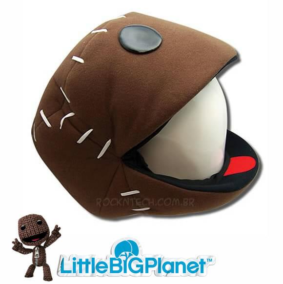 Almofada Sackboy do game Little Big Planet