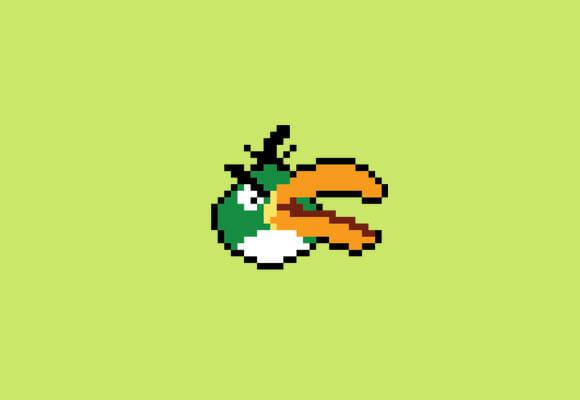 Se existisse Angry Birds na década de 90...