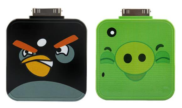 Baterias reservas indicadas para donos de iPhones 4 e fãs de Angry Birds
