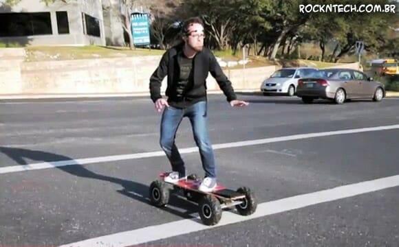 Esqueça o Kinect! Skates agora podem ser controlados por pensamentos! (vídeo)