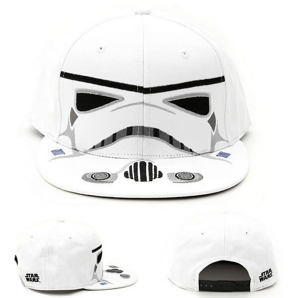 Boné Stormtrooper para geeks e fãs de Star Wars assumidos