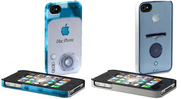 Capas para iPhone inspiradas em produtos antigos da Apple