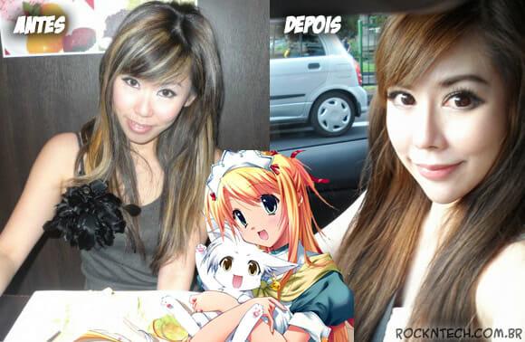 Mulher faz diversas cirurgias plásticas para se parecer com personagem de anime