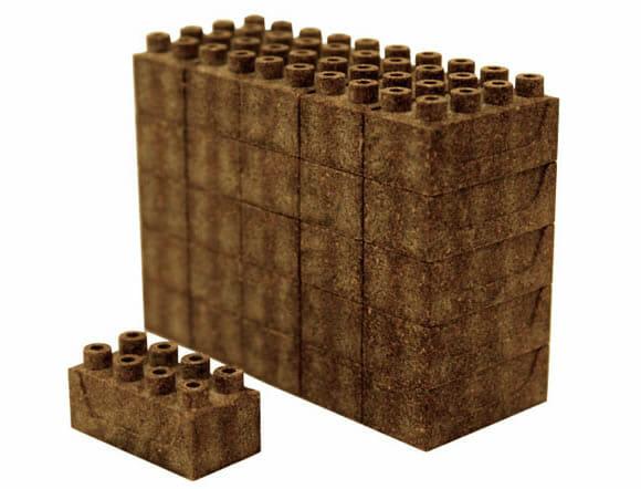 """Japoneses inventam uma alternativa """"Ecologicamente Correta"""" aos blocos de LEGO"""