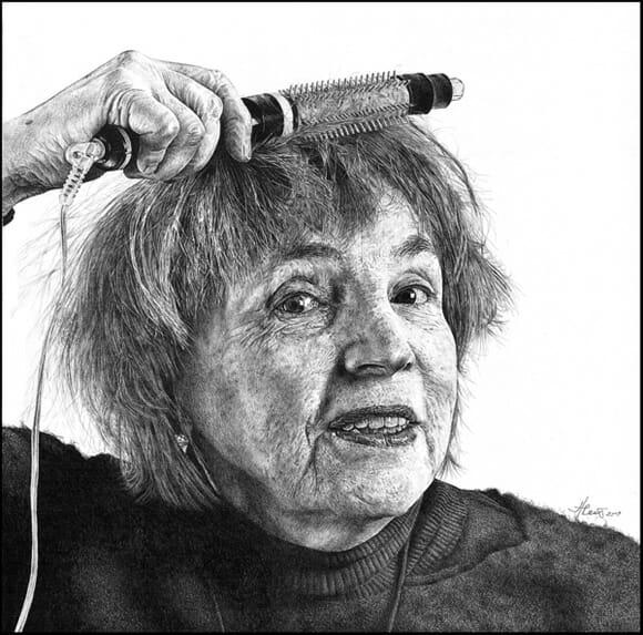 Desenhos incríveis feitos a lápis retratam situações do dia a dia