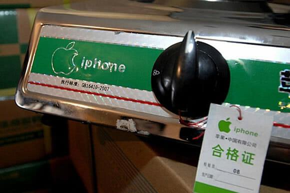 """Fogões de cozinha portáteis são apreendidos na China por terem marca """"iPhone"""""""