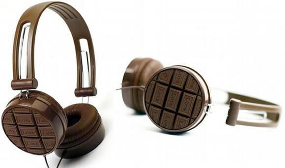 Headphone para viciados em música e chocolate