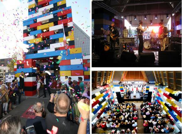 Igreja de LEGO em tamanho real