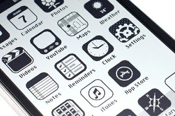 Como seria o iPhone na década de 80