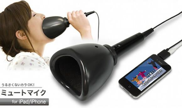 Microfone de karaokê especial para donos de iPhones e iPads desafinados