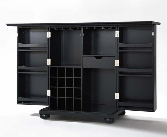 mini bar m vel expans vel para casas ou apartamentos pequenos rock 39 n tech. Black Bedroom Furniture Sets. Home Design Ideas