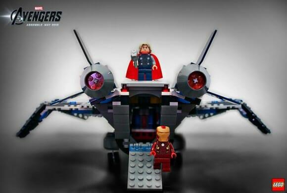 """Primeiras imagens dos novos minifigs LEGO baseados no filme """"Os Vingadores"""" da Marvel"""