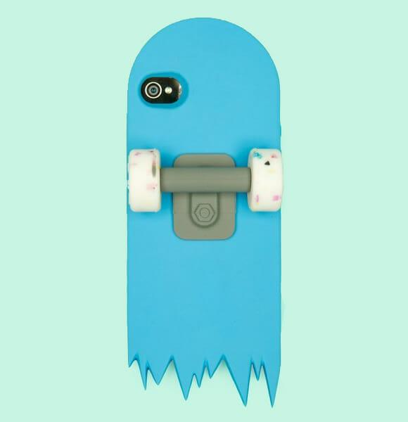 Capa para iPhone em forma de skate, ou quase isso...