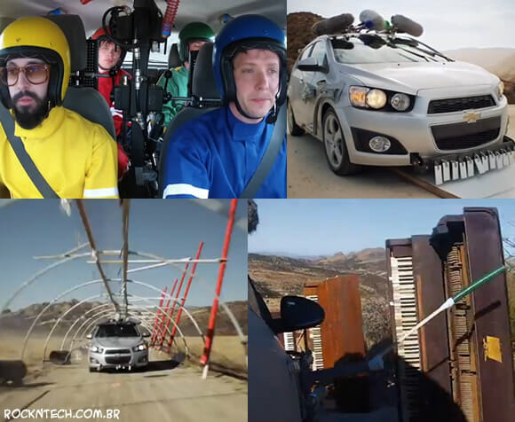 VIDEOCLIPE - OK Go: Needing/Getting