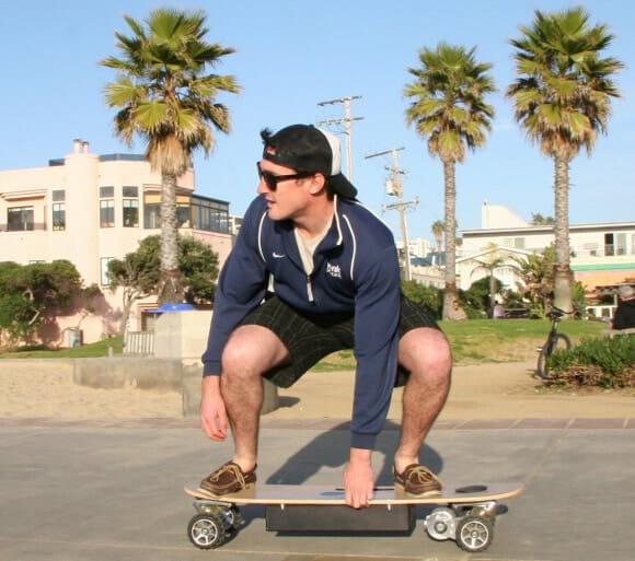 ZBoard: Skate elétrico off-road criado para skatistas preguiçosos