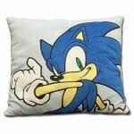 Almofada do Sonic para decorar a casa dos geeks