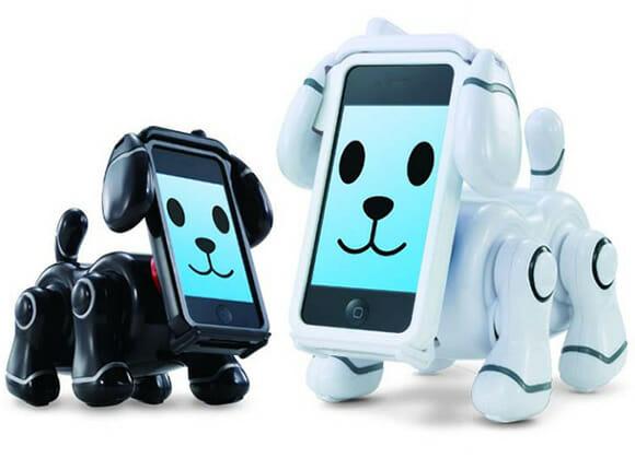 Novo brinquedo da Bandai transforma seu iPhone em um cachorro robótico digital (vídeo)