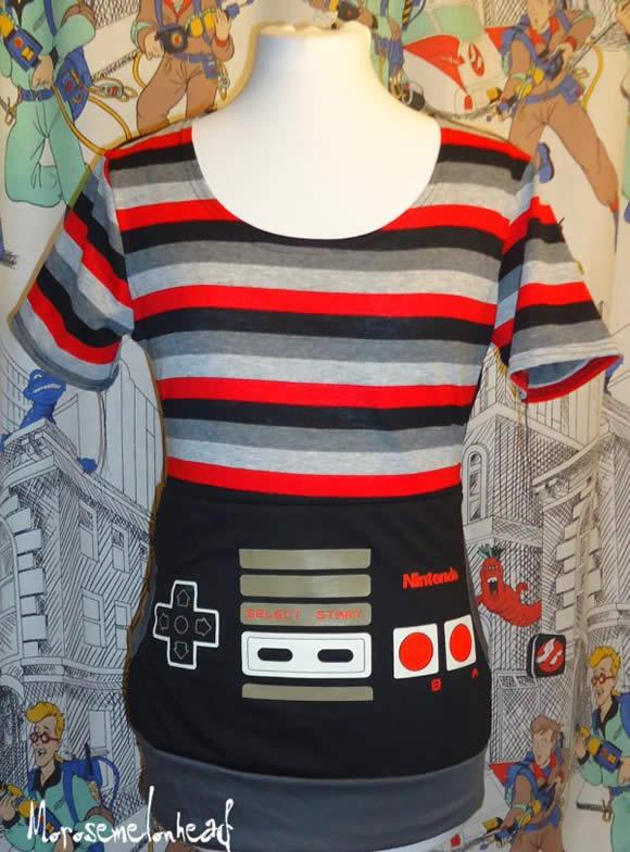 Moda geek: Blusinha Nintendinho 8-bits