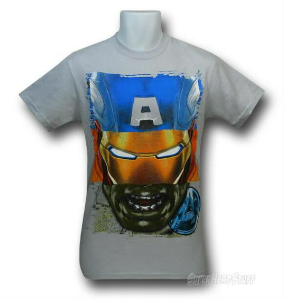 Camiseta geek detectada: O Incrível Capitão América de Ferro