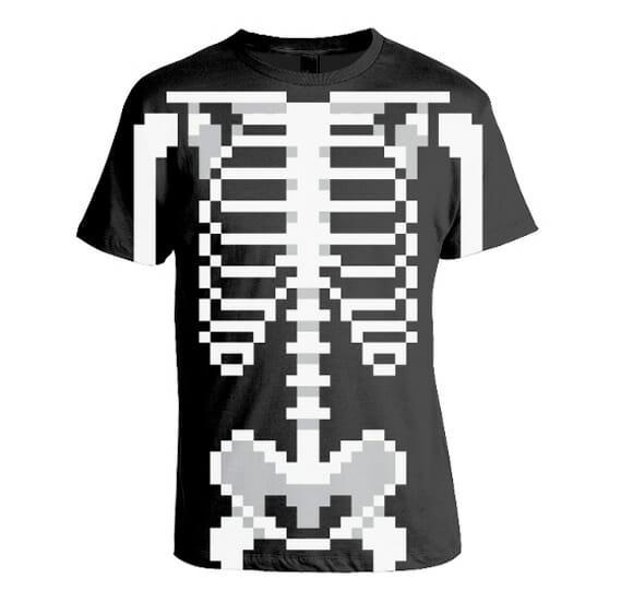 """Camisetas com estampas 8-bits são """"geek no úrtimo""""!"""
