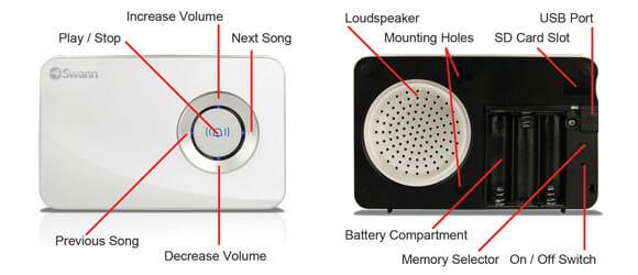 Nova Campainha Wireless é prática e pode ser programada com qualquer música (vídeo)