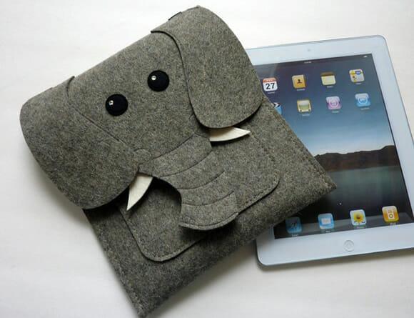 Capas de bichos para proteger iPads, MacBooks e Kindles
