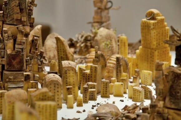 A incrível cidade esculpida em batatas