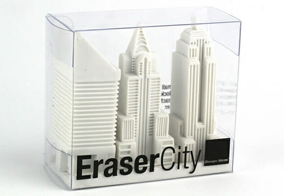 EraserCity: A borracha que você não vai querer usar