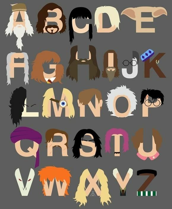 FOTOFUN - Alfabeto Harry Potter