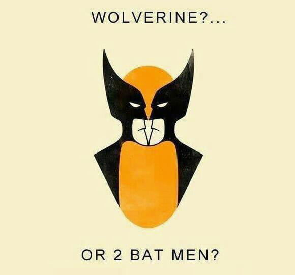 FOTOFUN - Wolverine ou Batman?