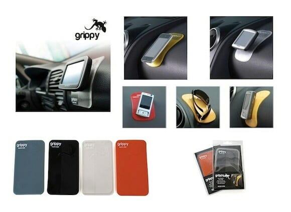 Grippy Pad é feito para prender seus gadgets no carro, mas duvido que tenha coragem!
