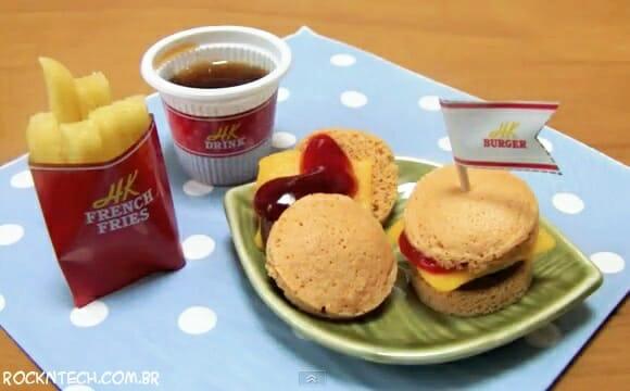 Mini kit fast-food não mata a fome, mas garante a diversão na cozinha (vídeo)