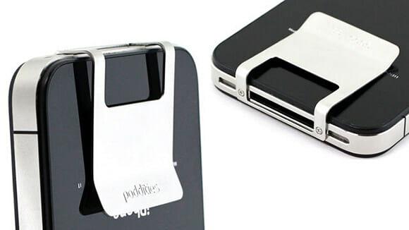 Clipe para guardar dinheiro no iPhone é prático porém um banquete para os ladrões