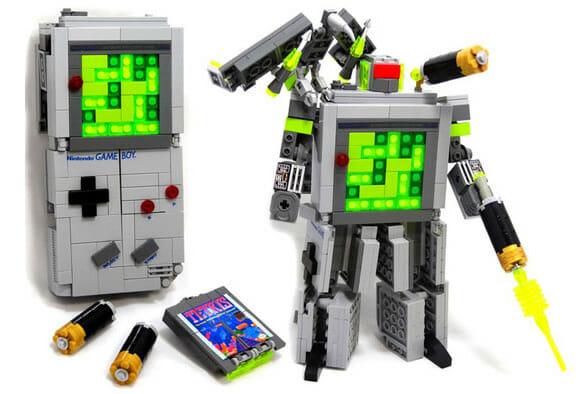 Game Boy Transformer de LEGO nos faz lembrar como foi boa a década de 80