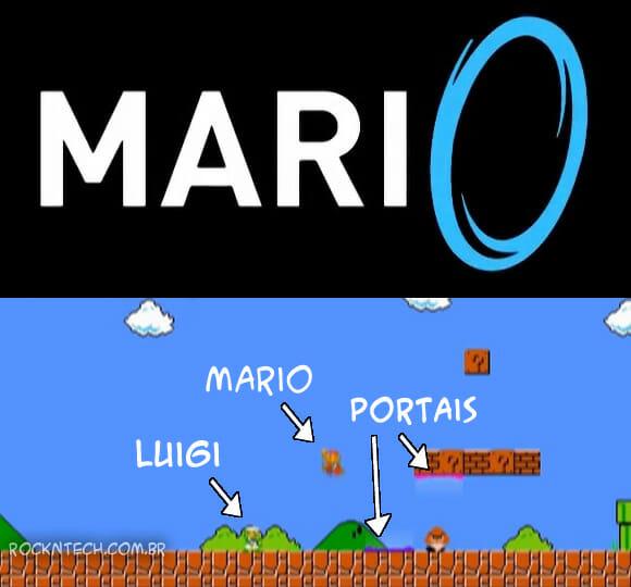 """Game não oficial """"Super Mario Portal"""" foi lançado e já pode ser baixado (vídeo)"""