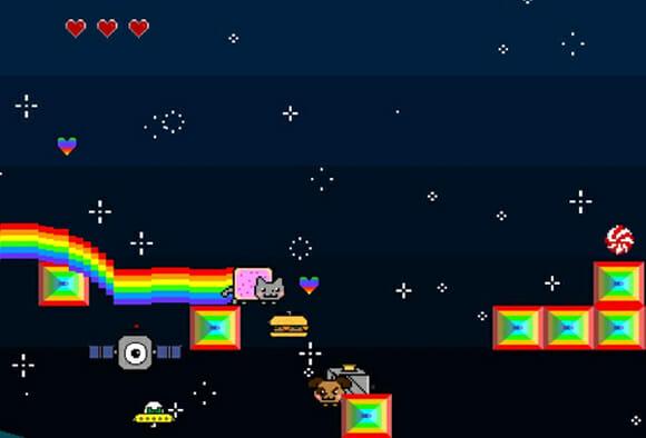 Nyan Cat Adventures: Do YouTube para o iOS e Xbox 360!