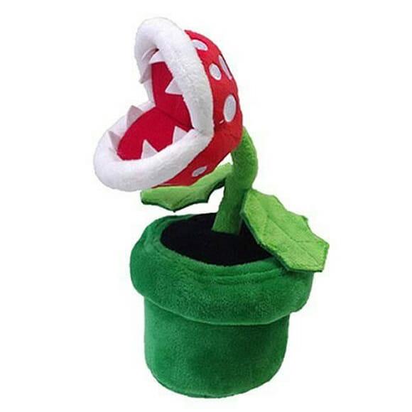 Piranha Plant do Super Mario de pelúcia