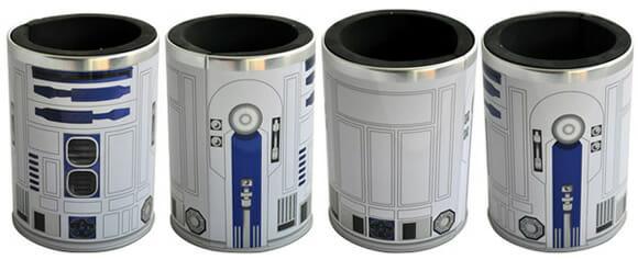 Porta-latas do R2-D2 mantém suas bebidas geladas