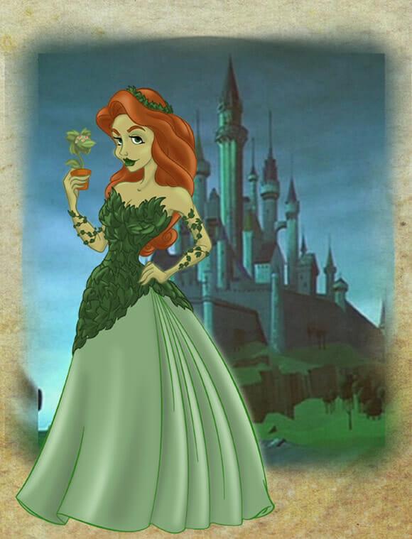 Vilãs de Gotham City como Princesas da Disney