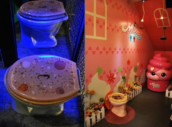 Restaurante Toilet: Chineses fazem suas refeições em restaurante que imita banheiro