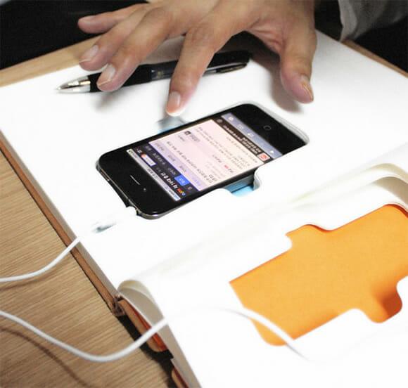 Proteja seu iPhone dentro de um bloco de notas