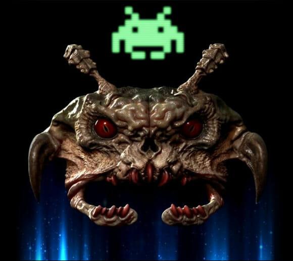 """FOTOFUN - Como seria um """"Space Invader"""" se fosse real? Talvez assim"""
